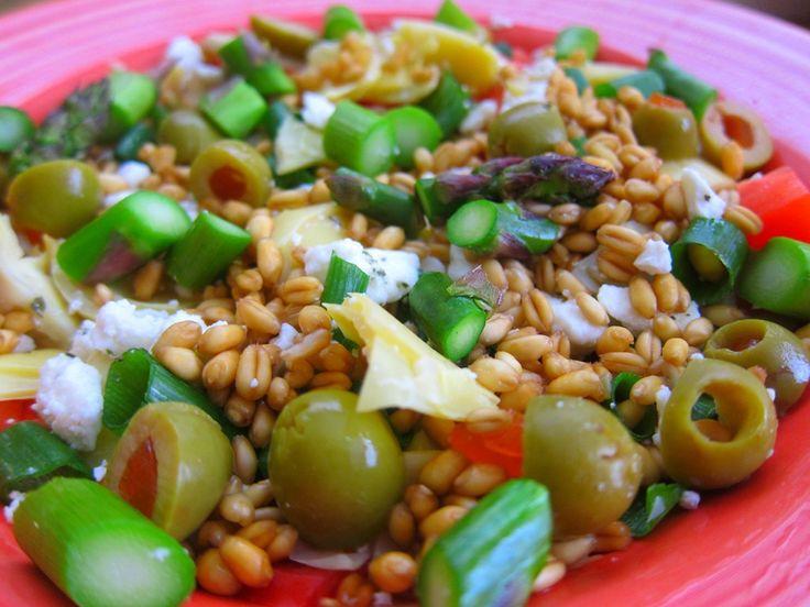 wheat berry salad | Recipes | Pinterest