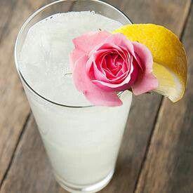 Rose Water Lemonade | cocktails etc | Pinterest