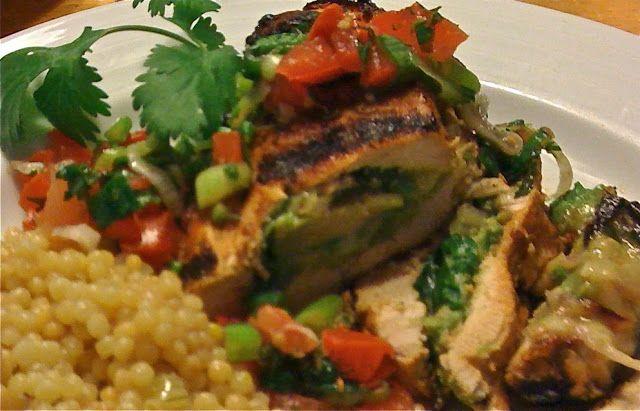 Revel & Feast: Avocado Stuffed Chicken Breasts with Fresh Tomato Salsa ...