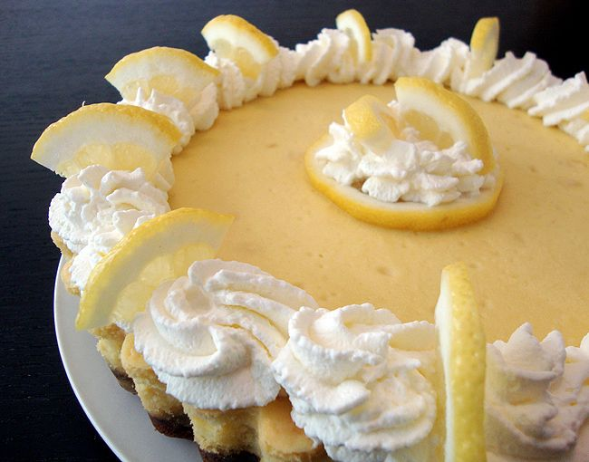 Mia's Domain: Lemon Ginger Cheesecake | Food & drinks | Pinterest
