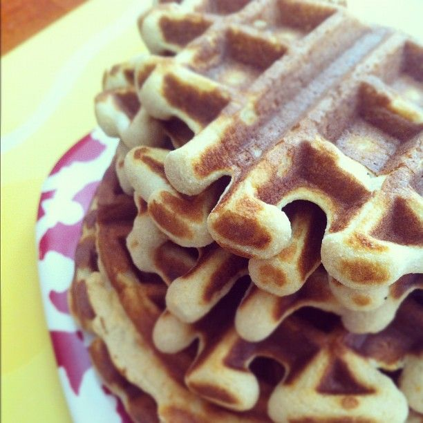 The Petite Athleat: Paleo Sweet Potato Waffles & Why I Hate Almond ...
