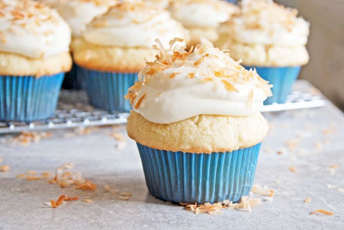 Coconut Cupcakes ****Save recipes from anywhere on your iPhone or iPad ...