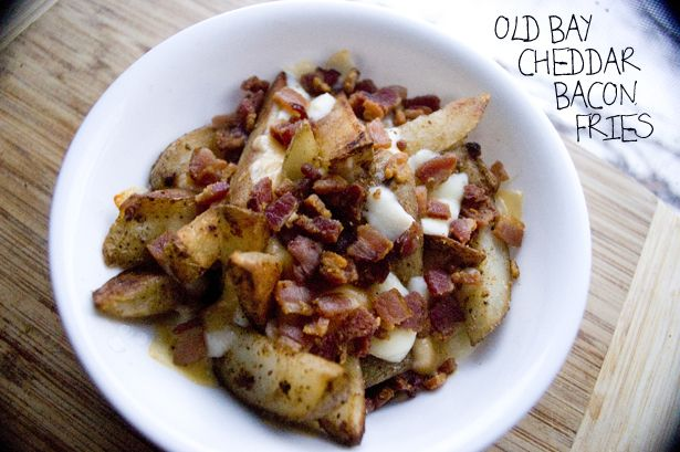 Old Bay Cheddar Bacon Fries (Prep Time 10 mins, Cook Time 30 mins / 2 ...