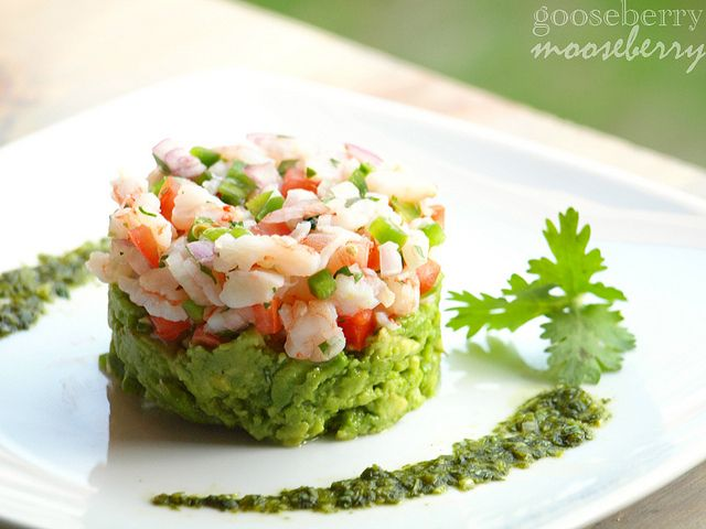 Mexican Ceviche with Shrimp | recipes | Pinterest