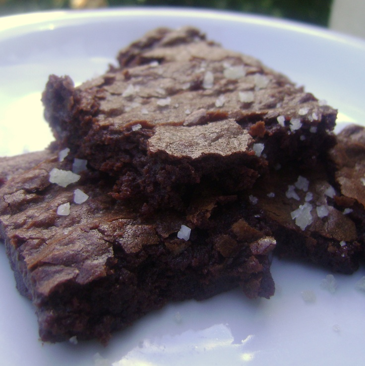 BrokeAss Gourmet – Salted Fudge Brownies | Food Recipes | Pinterest