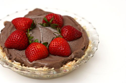 Strawberry Chocolate Ice Cream Pie | Pies | Pinterest