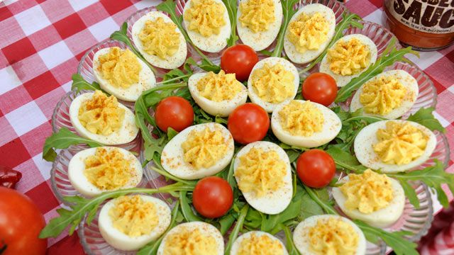 Mike Mills' 17th Street's Creamy Deviled Eggs