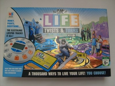 how to play the game of life twists and turns