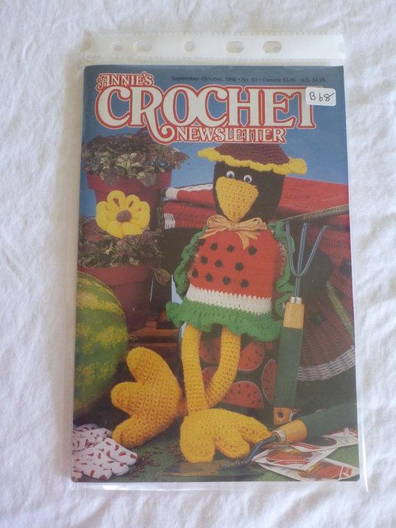 Annies Crochet Newsletter SeptOct 1996 B68 by CarolsCreations77, $4.50