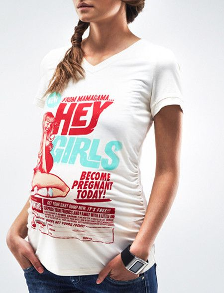Bombshell Maternity T shirt