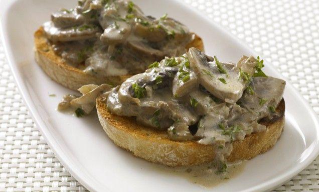 Mushroom Bruschetta | 1. Apps & Snacks; Chips & Dips. | Pinterest