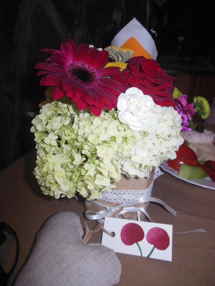 Wedding flowers, hearts, cherries Craft Ideas Pinterest
