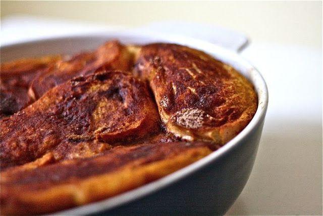 Baked Pumpkin French Toast | MADE | Desserts | Pinterest
