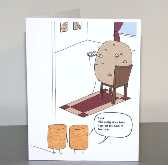 Funny Mother's Birthday Card, Humorous Mother's