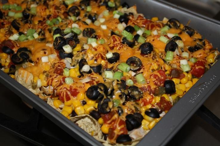 chicken nachos | The Menu | Pinterest