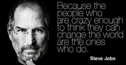 Steve Jobs Quote Crazy