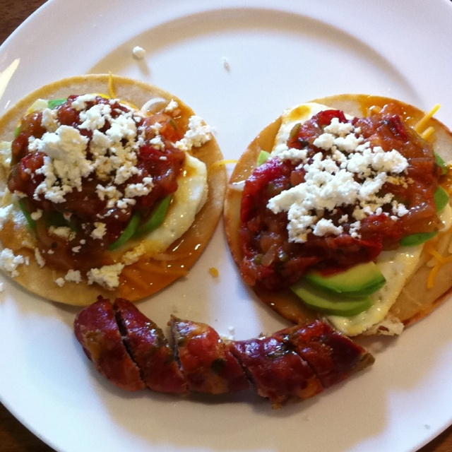 Huevos Rancheros with Chorizo | Food Art | Pinterest