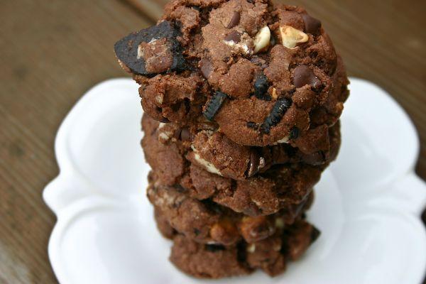 Triple Fudge Oreo Crunch Cookies | Cookies | Pinterest