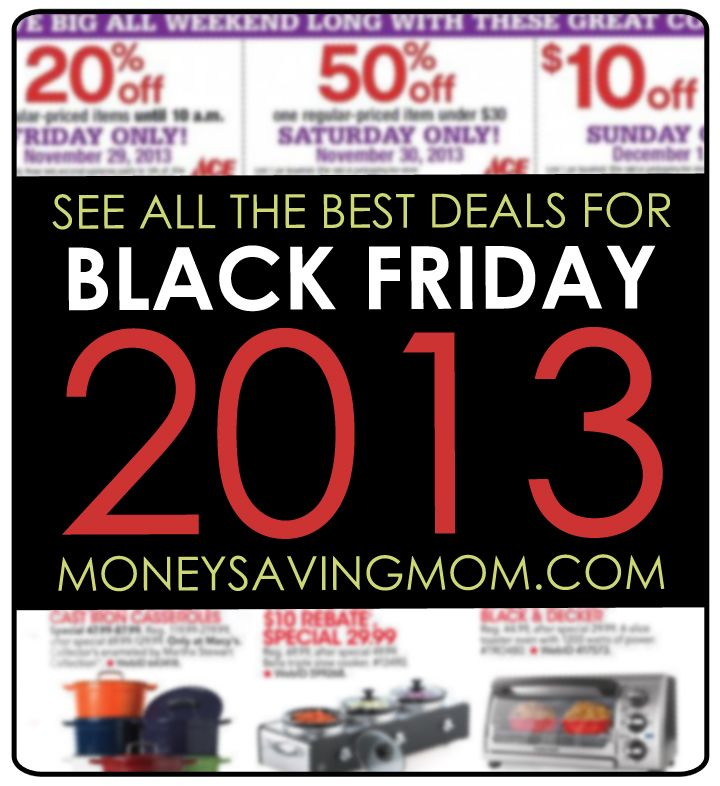 Black Friday 2013!! Don't use it as an excuse to overspend! Write out ...