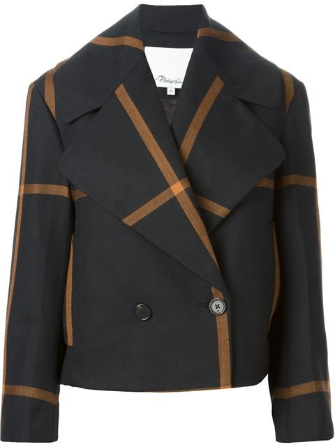 3.1 Phillip Lim Oversized Lapel Peacoat - Curve - Farfetch.com