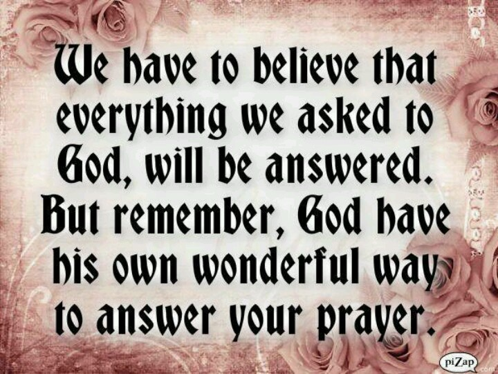 God Answers Prayers Quotes QuotesGram