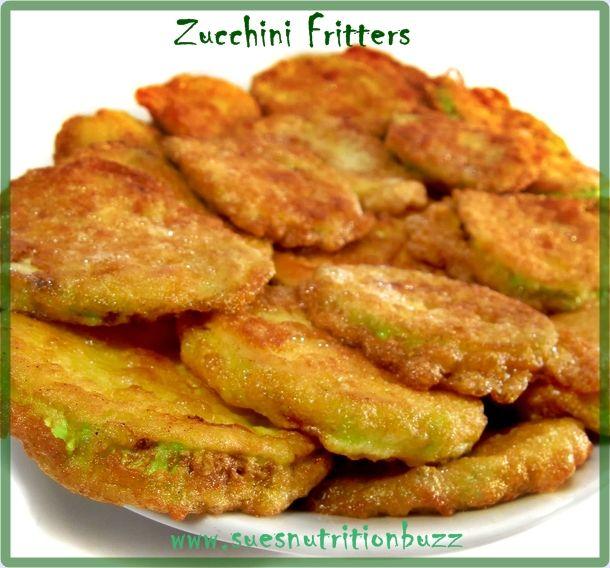 Fried zucchini fritters | Veggies | Pinterest