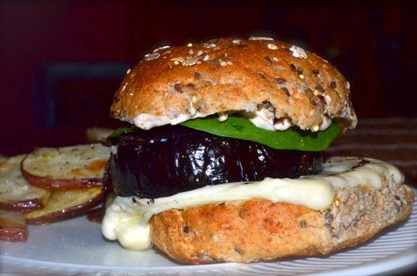 Eggplant Burgers | taste & sip. | Pinterest