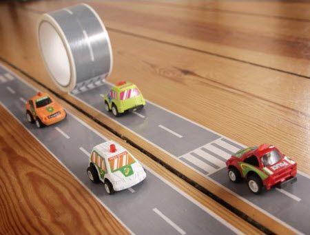 Mini Autobahn Road Tape