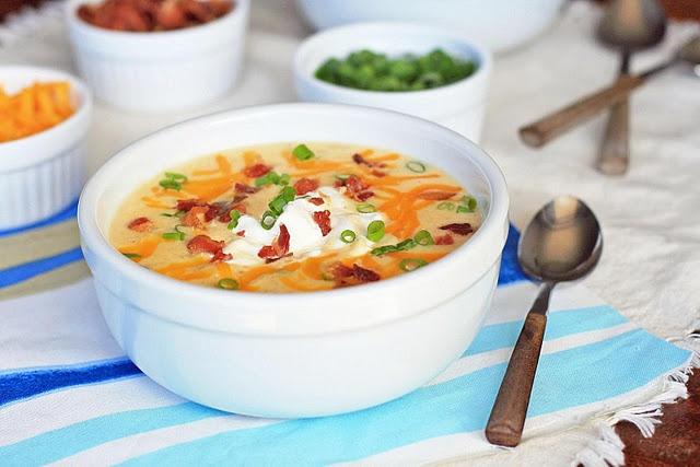 potato cheddar and bacon soup | FoOd & Drinks | Pinterest