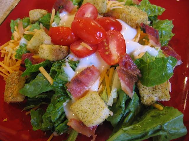 BLT Salad | Favorite Recipes | Pinterest