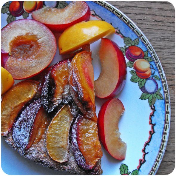 Whole grain Pflaumenkuchen- Yeasted Plum Cake _ This right here is one ...