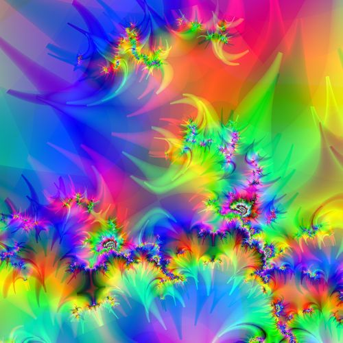 Amazing Fractals Color My World Pinterest