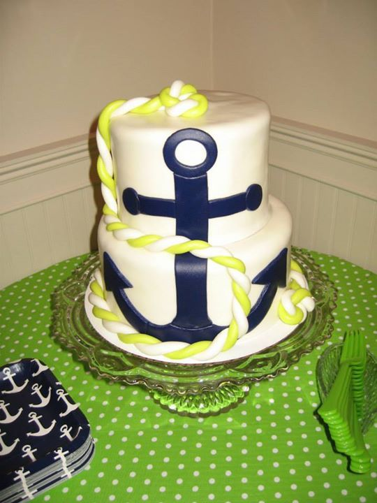 nautical baby shower cake diy projects to try ideas products pi
