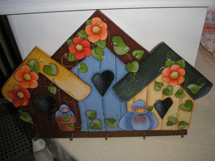 Pintura country manualidades country pinterest - Pinturas para casas de madera ...