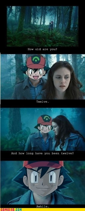 Ash Ketchum forever young