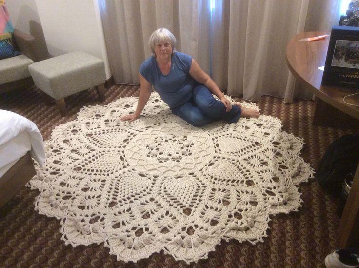 Ютуб мастер класс вязание ковриков с фото #2