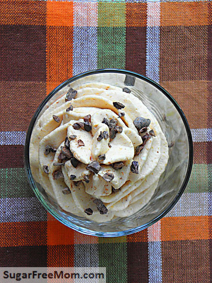 Low Carb Pumpkin Cheesecake Mousse: 8 oz Neufchatel cream cheese, 1 ...