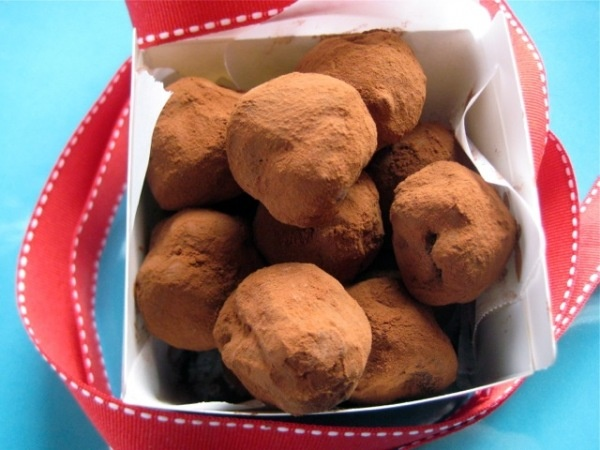 Chocolate Orange Truffles I believe in having a balanced diet ...
