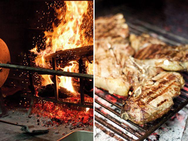 bistecca over charcoal | *famished* | Pinterest