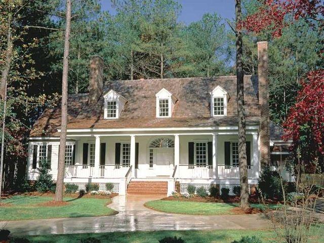 Traditional Exterior Cape Cod Colonial Home Exteriors