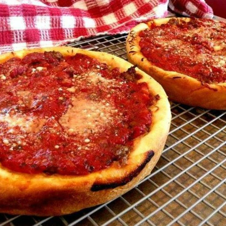 Chicago Style Deep Dish Pizza | Products I Love | Pinterest