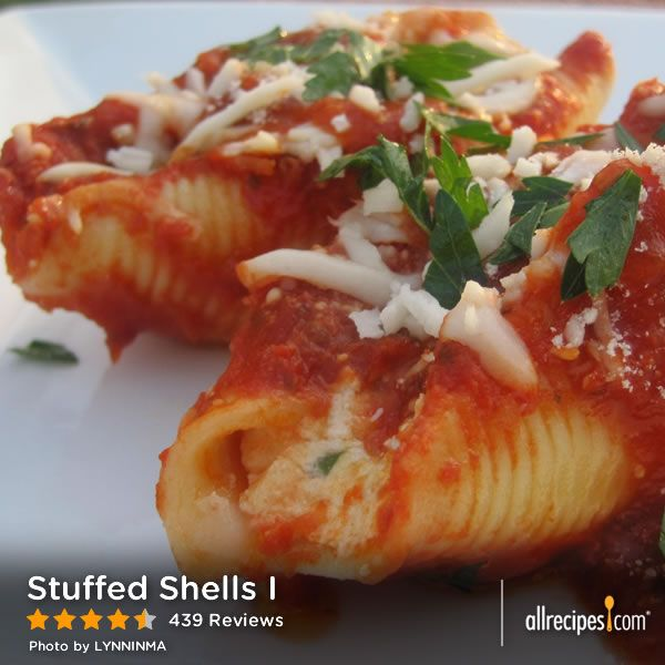 "Stuffed Shells I | ""My four kids and husband loved it and couldn't g..."