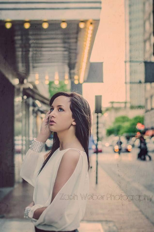 Senior girl pose | Zach Weber Photography 2013