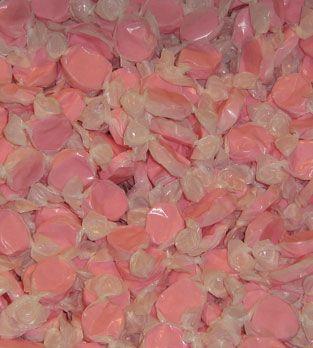 Pink salt water taffy | Vintage Birthday | Pinterest
