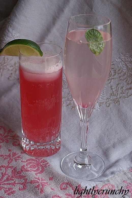 Rhubarb simple syrup & recipes   Drinks   Pinterest