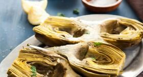 Garlic Thyme Oven Braised Artichokes | Try it you'll like it | Pinter ...