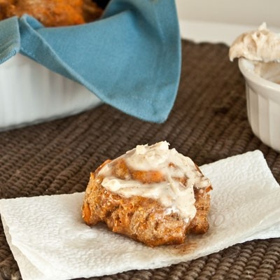 Whole Wheat (and Vegan) Sweet Potato Biscuits