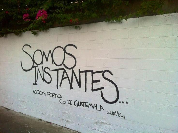 Somos Instantes Primer Mural De Acci N Po Tica Guatemala
