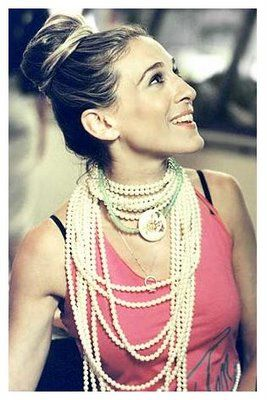 Every girls should wear pearls ~ Sarah Jessica Parker