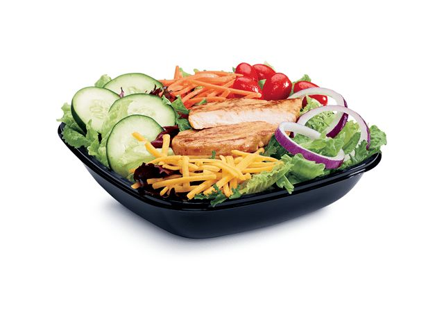 Permalink to Healthiest Fast Food Salads